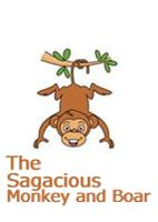 The Sagacious Monkey and Boar