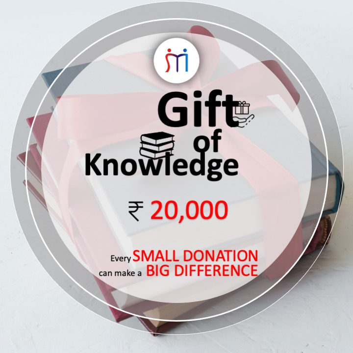 Rs.20,000 (Gift of Knowledge)