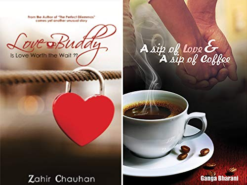 Combo of 2 Bestselling Romance Novels for Young Readers: A Sip of Love & A Sip of Coffee + Love Buddy Is Love Worth the Wait?