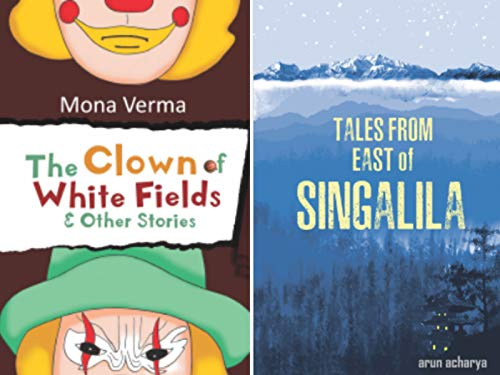 Combo of 2 Bestselling Children Short Story Books : Tales from East of Singalila + The Clown of White Fields & Other Stories