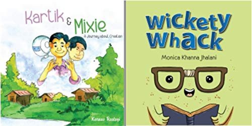 Combo of 2 Bestselling Children Books : Kartik and Mixie + Wickety Whack