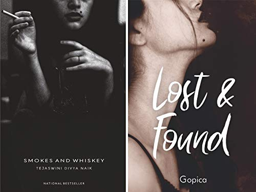 Combo of 2 Amazingly Opinionated Poetry Books by Young Writers : Smokes and Whisky + Lost and Found