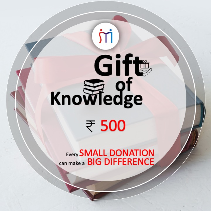 Rs.500 (Gift of Knowledge)