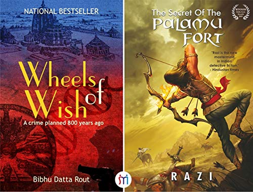 Must Read Combo of 2 Best-Selling Historical Mystery Thrillers (The Secret of Palamu Fort + Wheels of Wish)