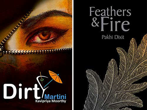Combo of 2 Bestselling Romance Novels : Dirty Martini + Feathers And Fire