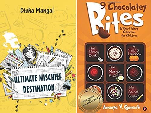 Combo of 2 Bestselling Children Short StoriesBooks : 9 Chocolatey Bites + Ultimate Mischief Destination