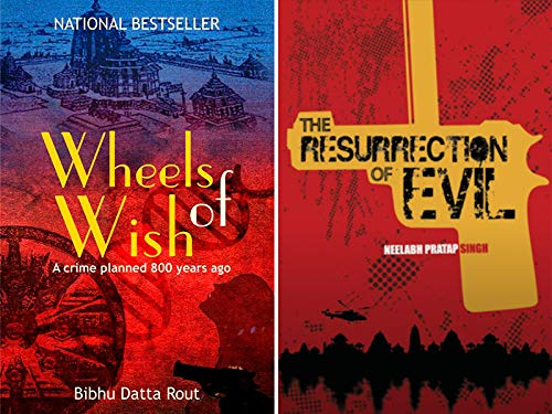 Combo of 2 Bestselling Suspense Thriller Books : Wheels Of Wish + The Resurrection of Evil