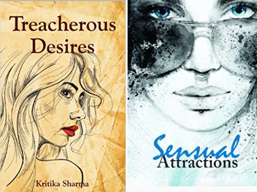 Combo of 2 Bestselling Adult Fiction Novels : Treacherous Desires + Sensual Attractions