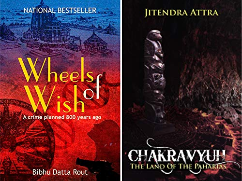 Combo of 2 Bestselling Mythological Thrillers : Wheels of Wish + Chakravyuh
