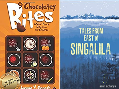Combo of 2 Bestselling Children Short Stories Books: 9 Chocolatey Bites + Tales from East of Singalila