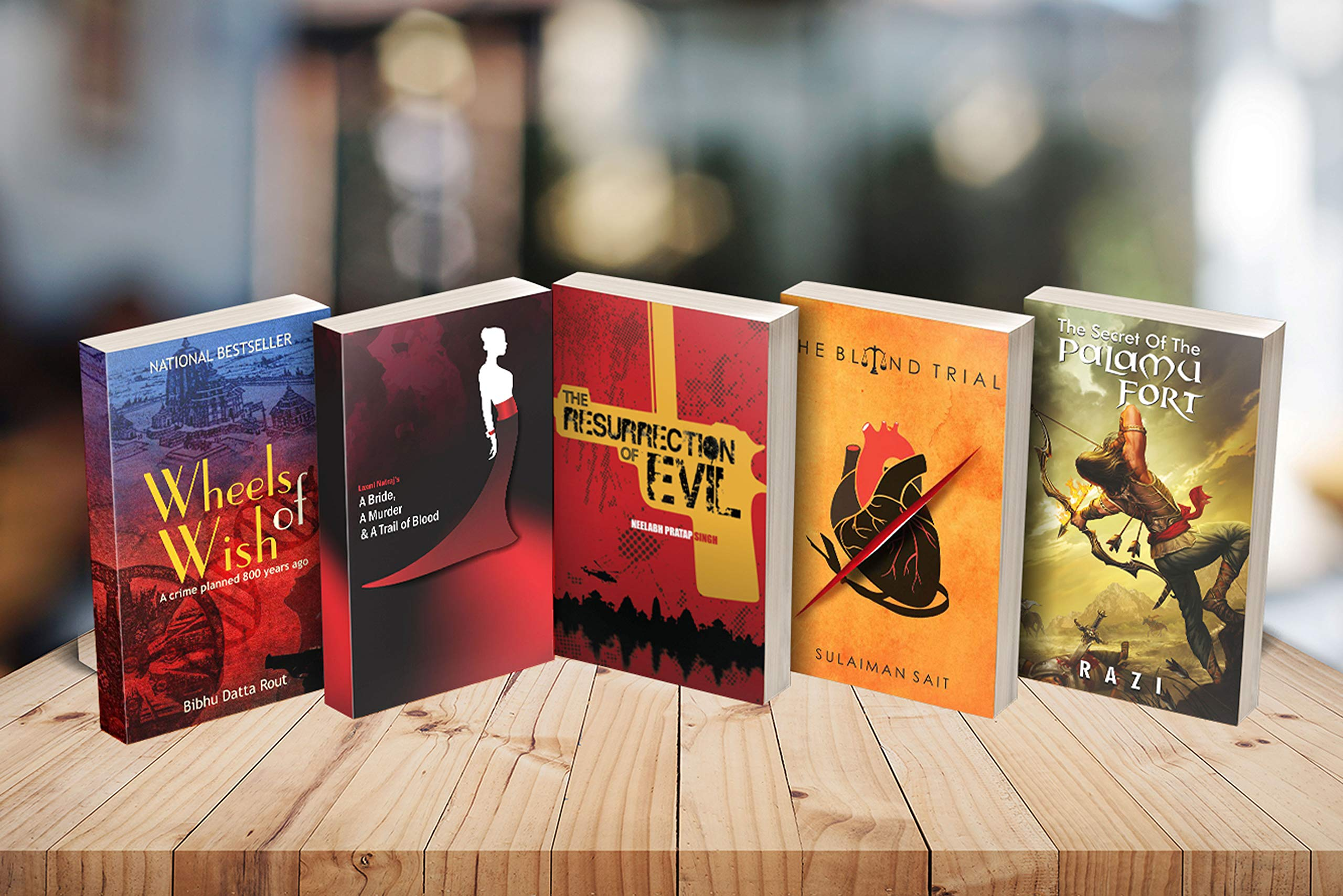 Combo of 5 gripping suspense thrillers