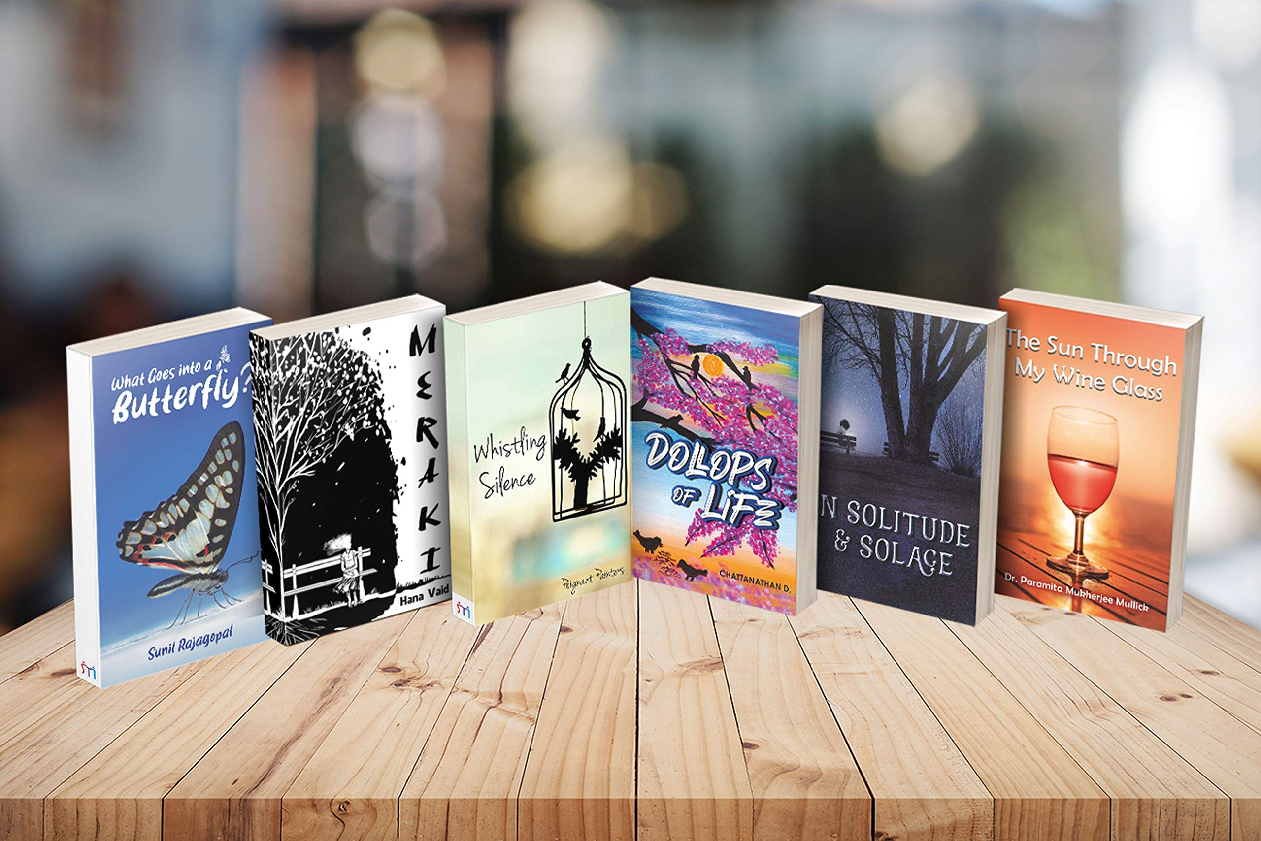 Combo of 6 finest & soulful poetry books