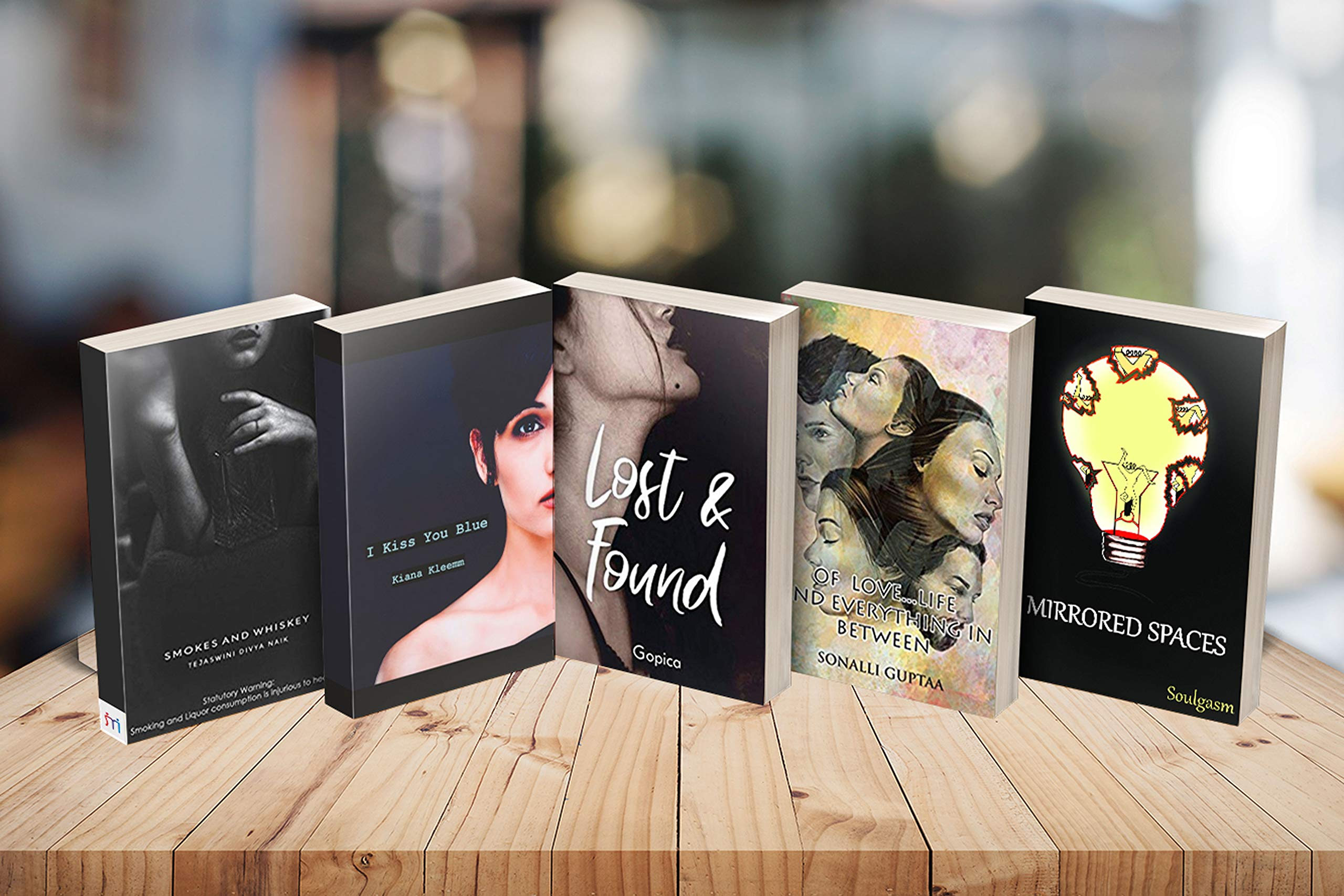 Combo of 5 Poetry Books reflecting on Love & Life
