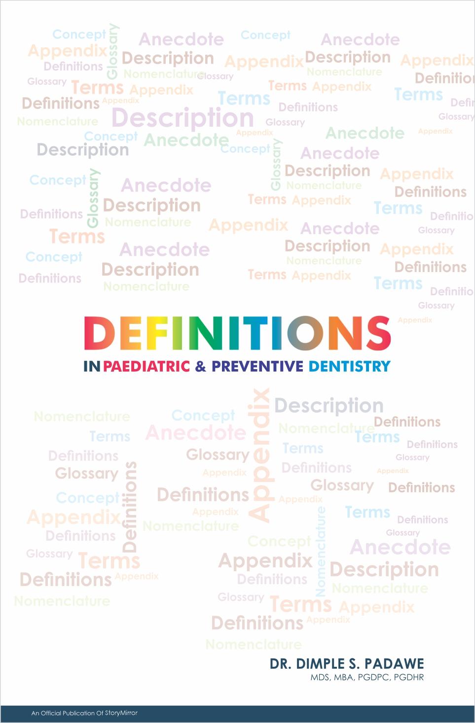 Definitions in Paediatric & Preventive Dentistry