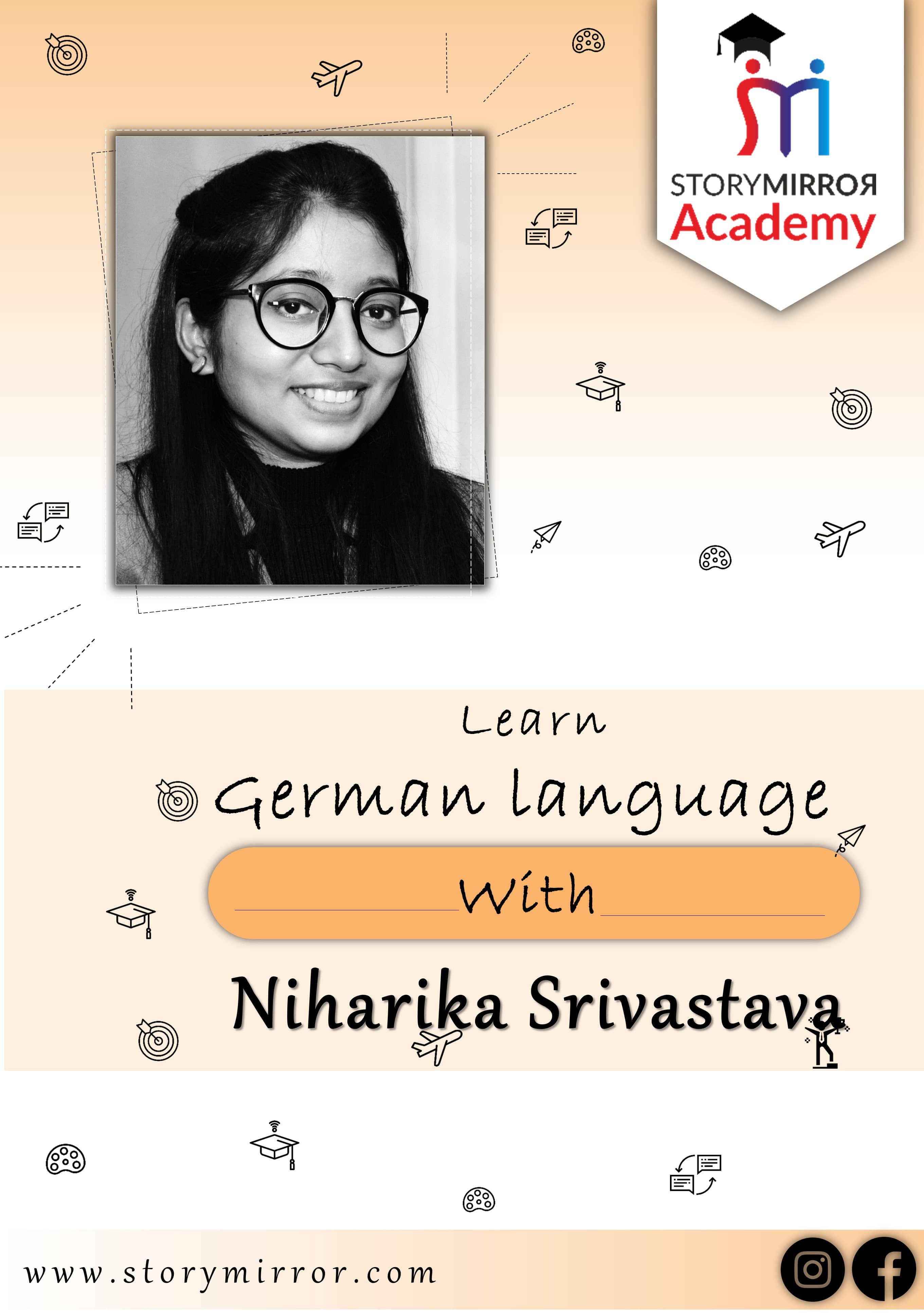 Learn German Language with Niharika Srivastava