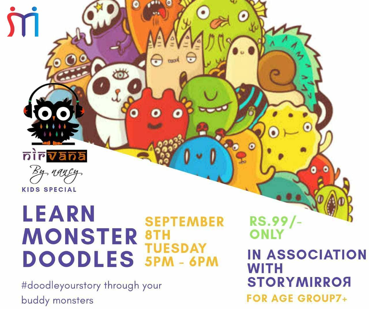 Monster Doodle Workshop (Event)
